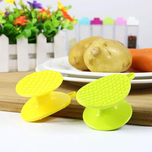 Double Side Potato Peeler Scrubber Kitchen Gadgets