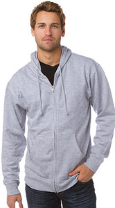 Full Zip Hooded Sweatshirt