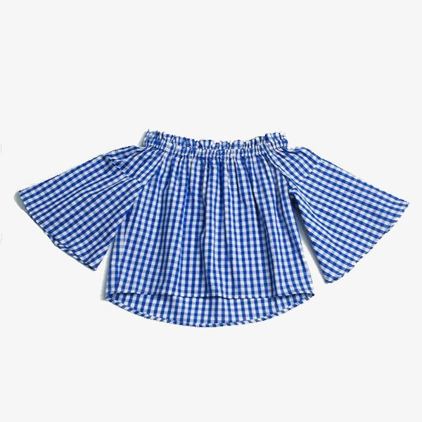 Trish Plaid Top, 5,  - CeCe & Jax