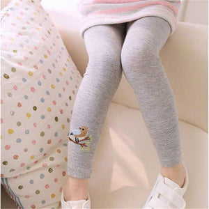 Birdy Leggings, Gray, 3T - CeCe & Jax