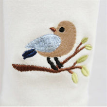 Load image into Gallery viewer, Birdy Leggings, White, 3T - CeCe & Jax
