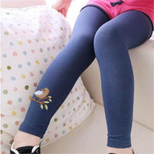 Load image into Gallery viewer, Birdy Leggings, Navy, 3T - CeCe & Jax