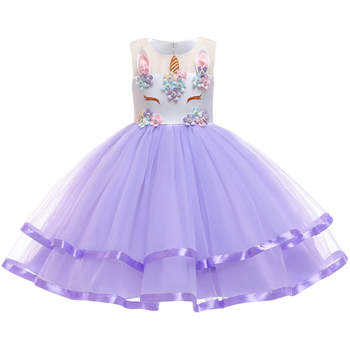 F & M Unicorn Princess Dress