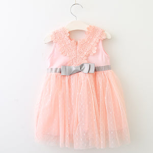 Lacey Doll Dress, Pink, 12M - CeCe & Jax