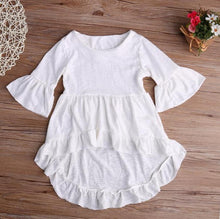 Load image into Gallery viewer, Dani Asymmetric Ruffled Shirt, 2T,  - CeCe & Jax