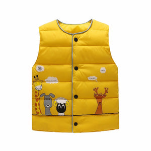 Animal Pals Vest, Yellow, 18M - CeCe & Jax