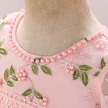 Load image into Gallery viewer, Flare Sleeves Embroidered Flower Dress (FINAL SALE), ,  - CeCe & Jax