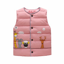 Load image into Gallery viewer, Animal Pals Vest, Pink, 18M - CeCe & Jax