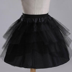 Petticoat Short 3 Layers, Black,  - CeCe & Jax