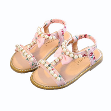 Load image into Gallery viewer, Bree Pearl Sandals, Pink, 10.5 - CeCe & Jax