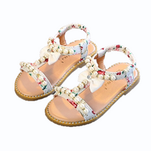Load image into Gallery viewer, Bree Pearl Sandals, White, 10.5 - CeCe & Jax