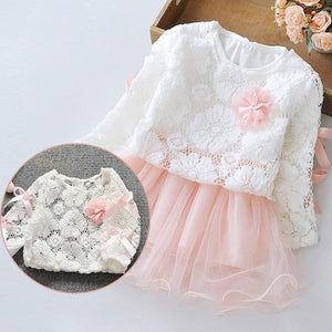 Lace Top Layer Dress, ,  - CeCe & Jax