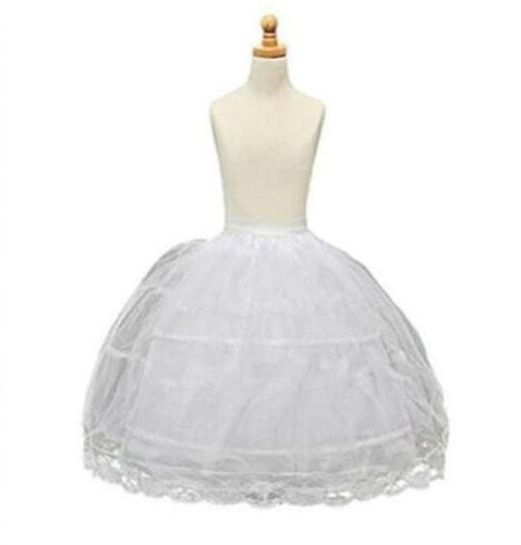 Petticoat Long Crinolines with Overlay, ONE SIZE (5 - 10),  - CeCe & Jax