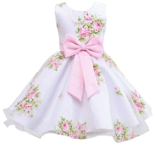 Betty Bow Rose Dress, pink, 3T - CeCe & Jax