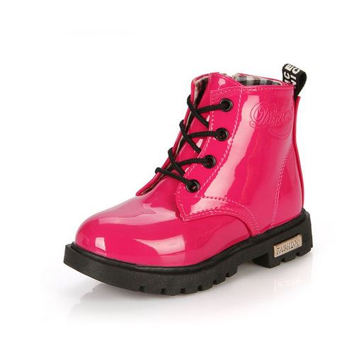 Zoey D Patent Leather Boots, Hot Pink, 10.5 - CeCe & Jax