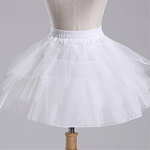 Petticoat Short 3 Layers, White,  - CeCe & Jax