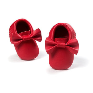 Jane Moccasin Shoes, Red, 5.5 - CeCe & Jax