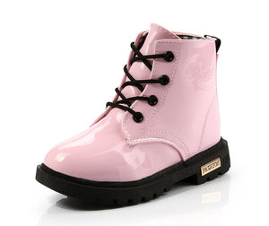 Zoey D Patent Leather Boots, Pink, 10.5 - CeCe & Jax