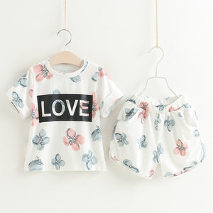 Ali Love Top & Shorts Set, ,  - CeCe & Jax