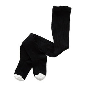 Knitted Plain Tights, Black, 12M - 3T - CeCe & Jax