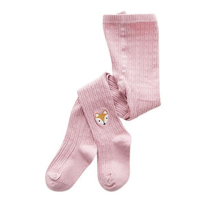 Knitted Little Critters Tights, Light Pink, 12M - 3T - CeCe & Jax