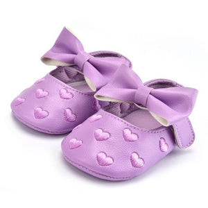 Queen of Hearts Leather Mary Janes, Lavender, 5.5 - CeCe & Jax