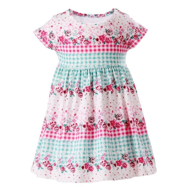 Picnic Flowers Dress, 3T,  - CeCe & Jax