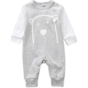 Woodland Cuties Bodysuit, Gray, Newborn - CeCe & Jax