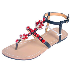Ciara Summertime Sandals, Red, 4 - CeCe & Jax