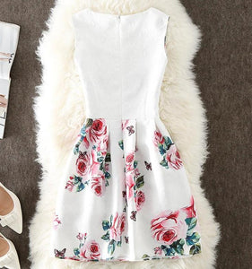 Roses Sleeveless Dress, ,  - CeCe & Jax