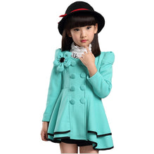 Load image into Gallery viewer, Missy Mon Bleu Peplum Coat, Mint, 5 - CeCe & Jax
