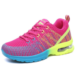 Arya Oneknit Running Shoes, Hot Pink, 5.5 - CeCe & Jax