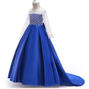 Aria Long Sleeve Gown (FINAL SALE), Blue, 4T - CeCe & Jax