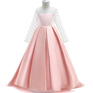 Aria Long Sleeve Gown (FINAL SALE), Pink, 4T - CeCe & Jax