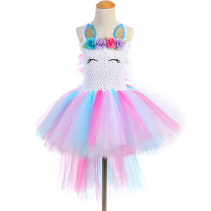 Lila Unicorn Mane Dress