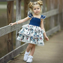 Load image into Gallery viewer, Skai Ruffle Flower Dress, ,  - CeCe & Jax
