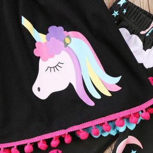 Jessie Unicorn Sleeveless Shirt & Leggings Set, ,  - CeCe & Jax