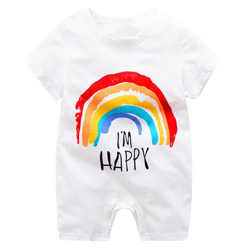 I'm Happy Bodysuit, 24M,  - CeCe & Jax