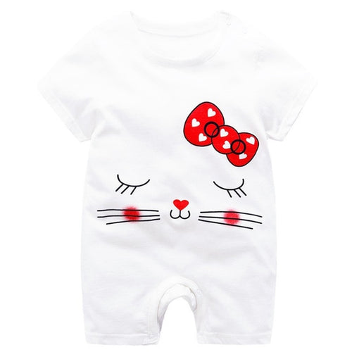 Sweetheart Cat Bodysuit, 24M,  - CeCe & Jax