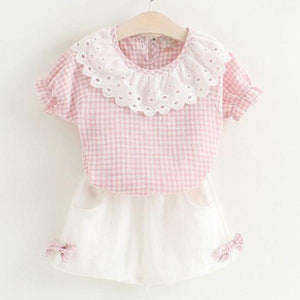 Dolly Top & Shorts Set, Baby Pink, 2T - CeCe & Jax