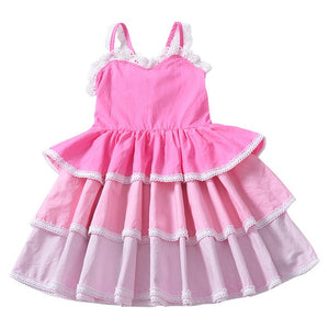 Nina Ruffle Dress, 3T,  - CeCe & Jax