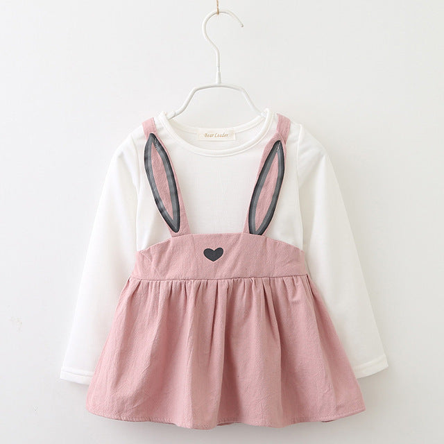 AdoraBunny Dress, Dusty Pink, 18M - CeCe & Jax
