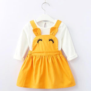 Happy Pippo Dress, Yellow, 6M - CeCe & Jax