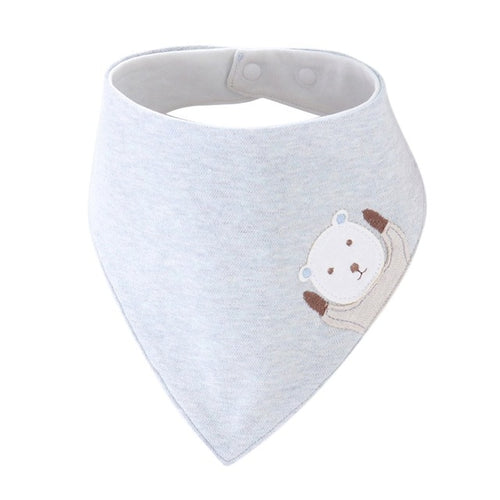 Furies' Cotton Bandana Bib, Light Blue,  - CeCe & Jax