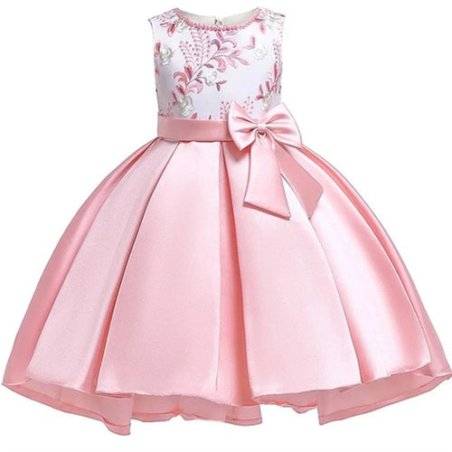 Princess Pearl Party Dress, Pink, 10 - CeCe & Jax