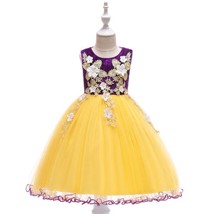 Daisy Velvet and Lace Dress, Purple, 4T - CeCe & Jax
