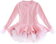 Load image into Gallery viewer, Prima Tulle Sweater, Pink, 2T - CeCe & Jax