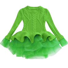 Load image into Gallery viewer, Prima Tulle Sweater, Green, 2T - CeCe & Jax