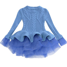 Load image into Gallery viewer, Prima Tulle Sweater, Sky Blue, 2T - CeCe & Jax