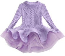 Load image into Gallery viewer, Prima Tulle Sweater, Purple, 2T - CeCe & Jax